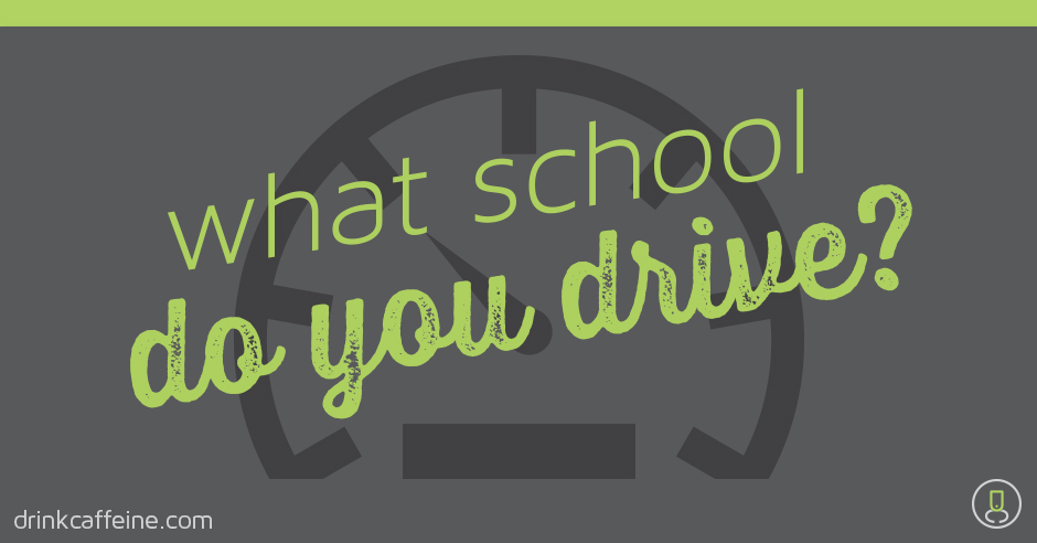 WHAT SCHOOL DO YOU DRIVE? blog image