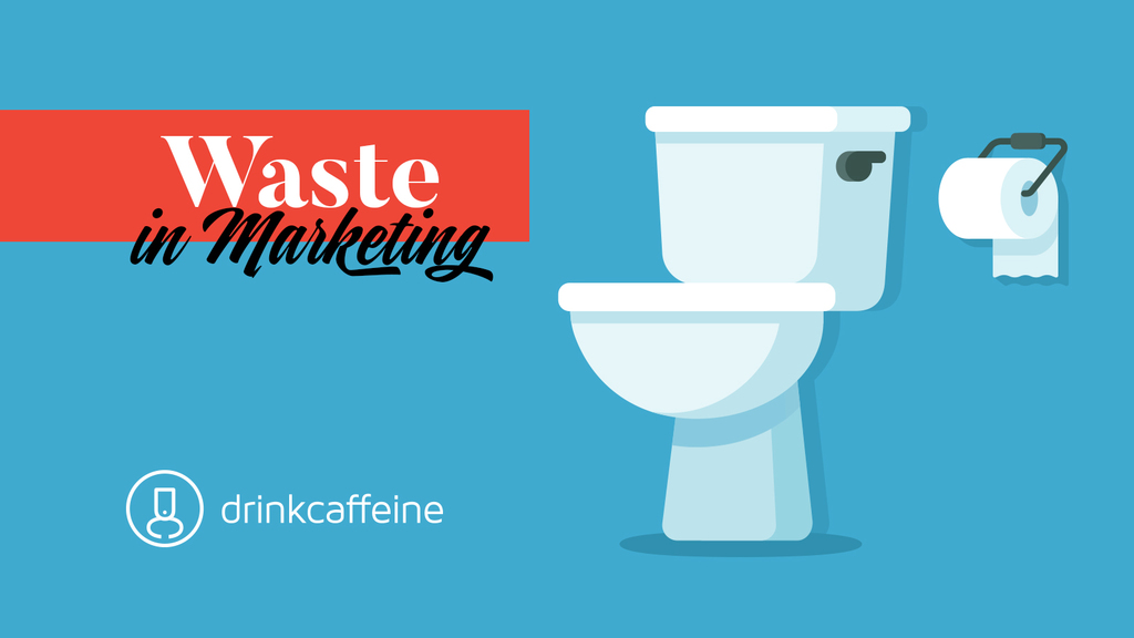 Waste in Marketing blog image