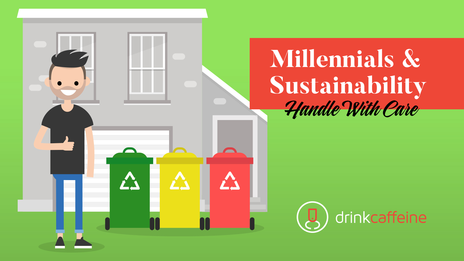 Millennials and Sustainability: Handle with care. blog image